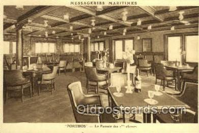 shi050156 - Messageries Maritimes Porthos Ship Postcard Postcards