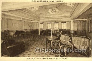 shi050157 - Messageries Maritimes Porthos Ship Postcard Postcards