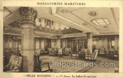 shi050172 - Felix Roussel Ship Postcard Postcards
