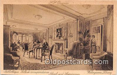 shi050256 - Writingroom Library  Ship Postcard Post Card