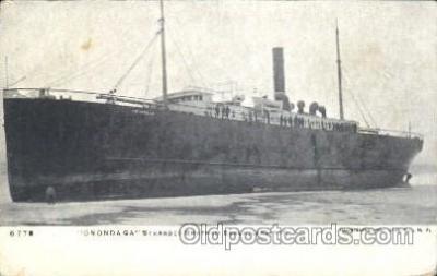shi051011 - Onondaga Ship Wrecks, Ships Postcard Postcards