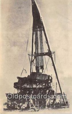 shi051056 - Salvage of the Caribia Apra Harbor, Guam Ship Postcard Post Card