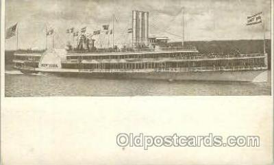 shi052006 - Hudson River Day line Ferry Boat Boats, Ship Ships Postcard Postcards