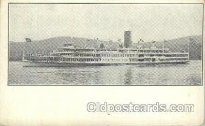 shi052007 - Hudson River Day line Ferry Boat Boats, Ship Ships Postcard Postcards