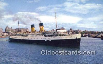 shi052027 - Princess Marguerite Ferry, Victoria, British Columbia, BC Ferry Ship Postcard Post Card