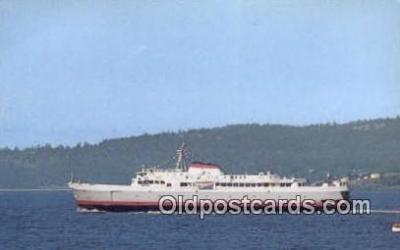 shi052052 - MV Coho, Victoria, British Columbia, BC  Ferry Ship Postcard Post Card