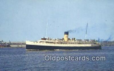 shi052056 - Princess Helene, New Brunswick, Canada Ferry Ship Postcard Post Card