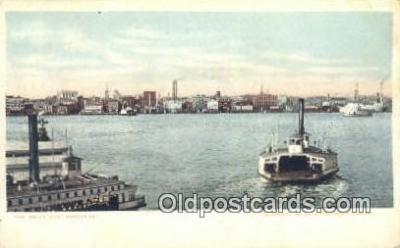 shi052061 - Norfolk, Virginia, VA USA Ferry Ship Postcard Post Card
