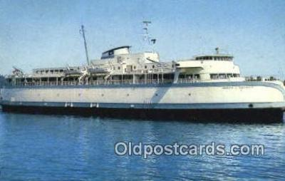 shi052075 - MV Queen Of Saanich, British Victoria, BC  Ferry Ship Postcard Post Card