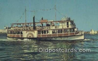 shi052082 - Harbor Cruise Boat, Princess, San Pedro, California, CA USA Ferry Ship Postcard Post Card