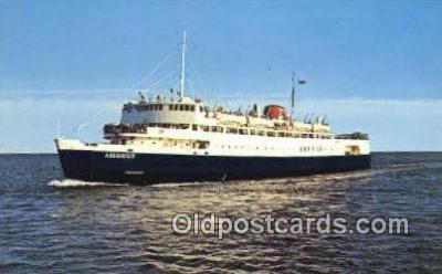 shi052085 - MV Abegweit, Prince Edward Island, Canada Ferry Ship Postcard Post Card
