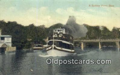 shi052087 - A Sydney Ferry Boat Ferry Ship Postcard Post Card