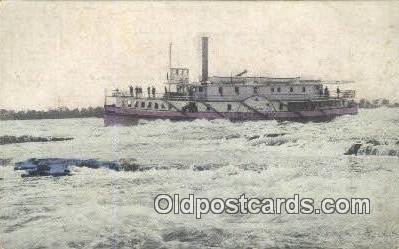 shi052097 - Montreal, Canada Ferry Ship Postcard Post Card