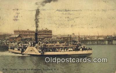 shi052099 - PS Eagle, Auckland, New Zeeland Ferry Ship Postcard Post Card