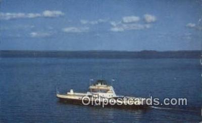 shi052104 - MV Grand Isle, Grand Isle, Vermont, VT USA Ferry Ship Postcard Post Card