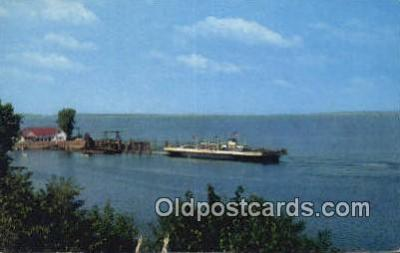 shi052108 - Valcour Of The Lake Champlain Transportation Company, Port Kent, Kentucky, KT USA Ferry Ship Postcard Post Card