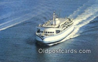 shi052128 - BC Ferry, British Columbia Ferry Ship Postcard Post Card