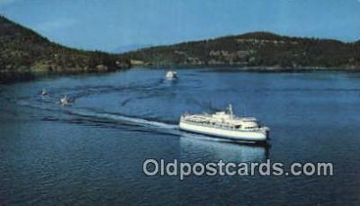 shi052130 - BC Ferries, Victoria, British Columbia, BC Ferry Ship Postcard Post Card