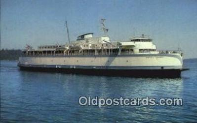 shi052172 - MV Queen OF Saanich, Victoria, British Columbia, BC  Ferry Ship Postcard Post Card