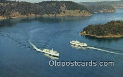 shi052174 - BC Ferries, Victoria, British Columbia, BC Ferry Ship Postcard Post Card