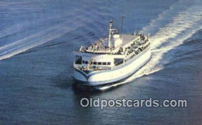 shi052175 - BC Ferry, British Columbia Ferry Ship Postcard Post Card