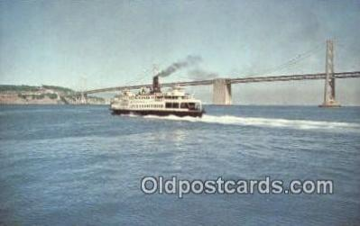 shi052200 - Eureka, San Francisco, California, CA USA Ferry Ship Postcard Post Card