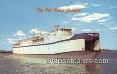 shi052232 - The Old Point Comfort, Kiptoeke Beach, Virginia, VA USA Ferry Ship Postcard Post Card