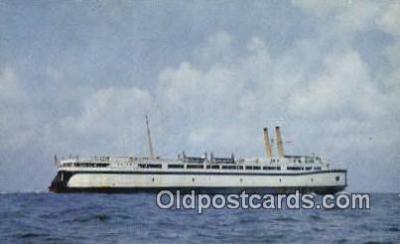 shi052239 - The SS Del Mar Va, Norfolk, Virginia, VA USA Ferry Ship Postcard Post Card