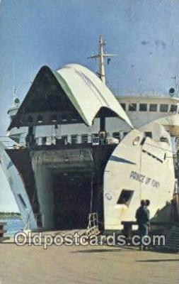 shi052283 - M/S Prince Of Fundy, Yarmouth, Nova Scotia Ferry Ship Postcard Post Card