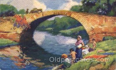 shi053002 - Morgan's Bridge, at old Panama Ship Ships Postcard Postcards