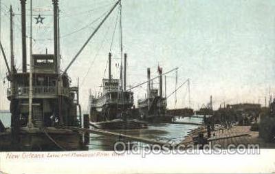 shi053017 - New Orleans LA, U.S.A. Ship Ships Postcard Postcards