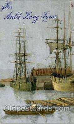 shi053043 - Auld Lany Syne Boat, Boats, Postcard Postcards