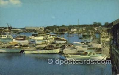 shi053059 - Pleasure Boats Rocky Neck Ship Postcard Postcards