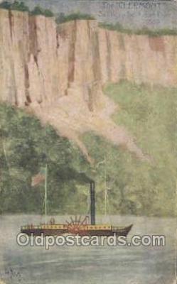 shi053062 - The Clermont Ship Postcard Postcards