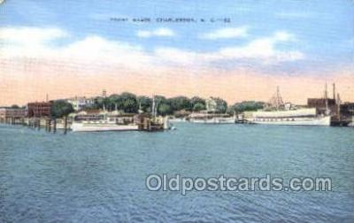 shi053063 - Yacht Basin Charleston SC Ship Postcard Postcards