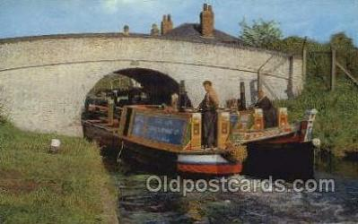 shi053075 - Grand Union Canal North Of Bletchley Ship Postcard Postcards