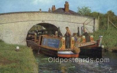 shi053076 - Grand Union Canal North Of Bletchley Ship Postcard Postcards