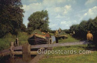 shi053082 - Oxford Canal North Of Banbury Ship Postcard Postcards
