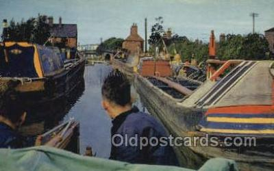 shi053084 - Oxford Canal at Hawkesbury Ship Postcard Postcards