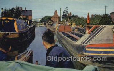 shi053085 - Oxford Canal at Hawkesbury Ship Postcard Postcards