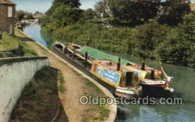 shi053090 - Grand Union Canal North Of Bletchley Ship Postcard Postcards
