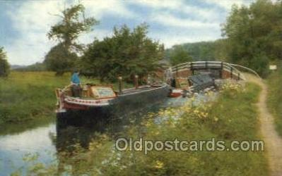 shi053091 - Oxford Canal Ship Postcard Postcards