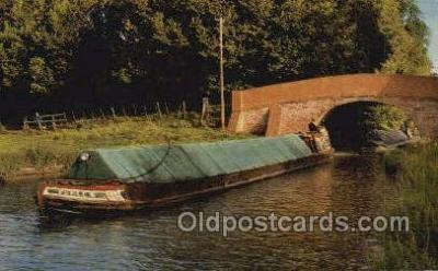 shi053096 - Grand Union Canal North Of Bletchley Ship Postcard Postcards