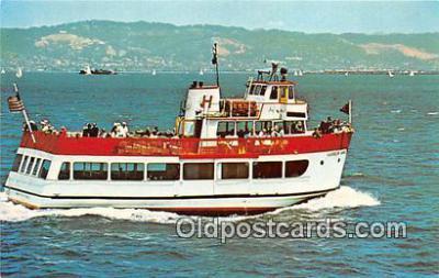 shi053105 - MV Harbor King San Francisco Bay Cruise Boats Ship Postcard Post Card