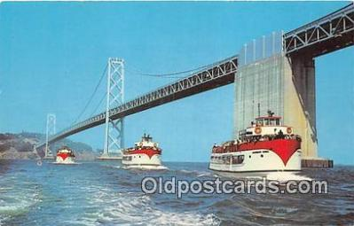 shi053119 - Harbor Tours San Francisco Ship Postcard Post Card