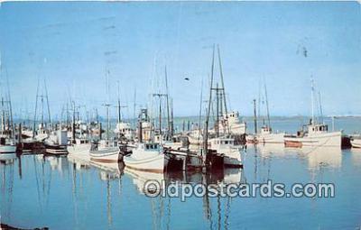 shi053124 - Commercial Fishing Eureka Boat Basin Ship Postcard Post Card