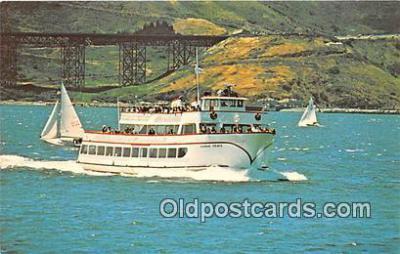 shi053129 - MV Harbor King San Francisco Bay Cruise Boats Ship Postcard Post Card