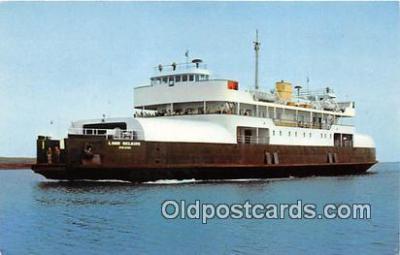shi053136 - MV Lord Selkirk Wood Island Ship Postcard Post Card