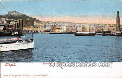 shi053148 - Napoli Ship Postcard Post Card