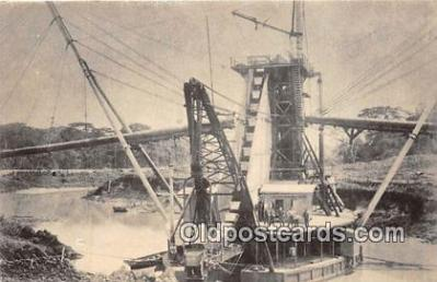 shi053156 - Panama Canal  Ship Postcard Post Card